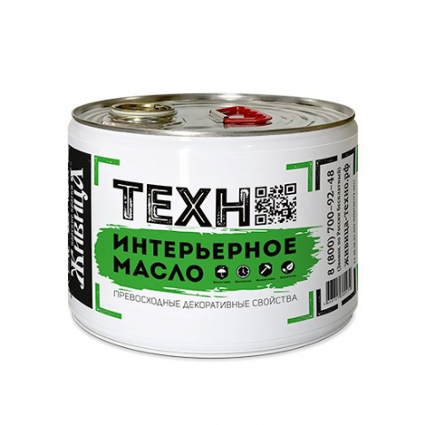 Интерьерное масло «Живица Техно»